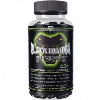 Жиросжигатель BLACK MAMBA HYPER RUSH 65МГ EPH (90 КАПСУЛ) - Тараз