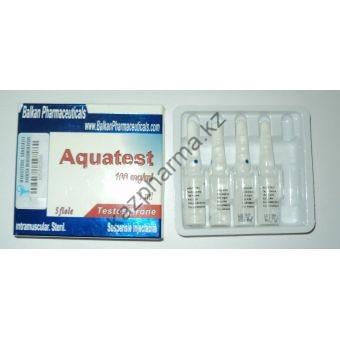 Aquatest (Суспензия Тестостерона) Balkan 10 ампул по 1мл (1амп 100 мг) - Тараз